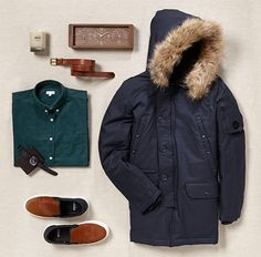 winter outfit for guys. Winter Outfits Men, Casual Outfits, Stylish Men, Fleas, Canada Goose Jackets, Parka, Mens Fashion, Street Fashion, Winter Jackets