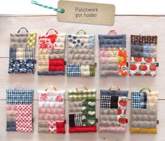 #patchwork #potholder, 2013年01月の記事 | fabrickaz+idees