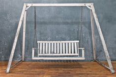 Rustic Shabby Porch Swing. $302