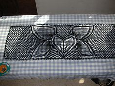 Flying Heart  Shawl Crochet pattern available for $1.00 in my  Ravelry Store