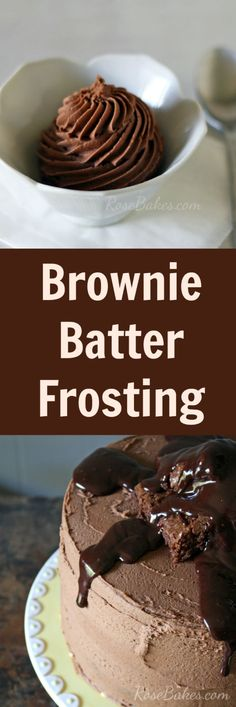 ☼☼ Brownie Batter Frosting - tried this one - it really does taste like brownie batter!