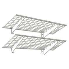 HyLoft 00630 24 in. Wall Shelf Material - Steel by HyLoft. Save 25 Off!. $89.99. Easy to combine with other Hyloft racks. Dimensions (each): 48L x 24W x 4.25H in.. Install on finished or unfinished walls 200 lbs. load capacity. Includes a 5-year manufacturers warranty. Easy-to-mount wall storage racksgreatly increase storage. About Diamond Storage Concepts Diamond Storage Concepts designed, created, and distributes the incredibly popular Hyloft wall storage system. With the idea of making…