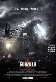 Godzilla 2014 - Movie Poster