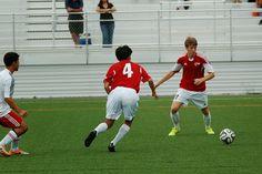 Team America 96 (2014 OBGC Capital Cup, U18/U19 Premiere) vs ABGC United (August 30, 2014) -- Liam Walsh #11, Haruto Kato #4 (TAFC96 Soccer)