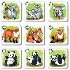 Pexetrio KIDS Zvieratá - poznáš ich rodinu?