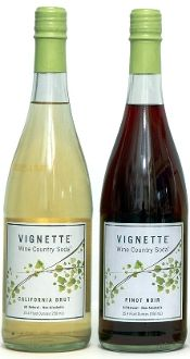 Vignette Wine Country Sodas--a non-alcoholic alternative to Wine for holiday feasts!