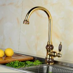 Reviews European jade and gold kitchen faucet hot and cold vegetables basin rotating taps all copper antique basin faucet water tap ☛ Buy Want European jade and gold kitchen faucet hot and cold Rating Shopping  European jade and gold kitchen faucet hot and cold vegetables basin ro  More : http://shop.flowmaker.info/VDvPi    European jade and gold kitchen faucet hot and cold vegetables basin rotating taps all copper antique basin faucet water tapYour like European jade and gold kitchen faucet…