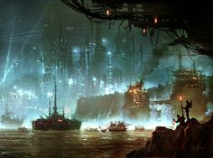#CloudAtlas concept art by #GeorgeHull