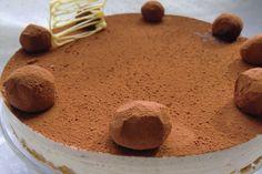 La receta de Tarta de Crema de Castañas con Mascarpone y Cacao es un postre que vas a repetir más de una vez. Roasted Tomatoes, Caprese Salad, Tiramisu, Tea Time, Ale, Cacao, Muffin, Pudding, Sweets