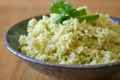 CINCO de MAYO: Cilantro Lime Rice