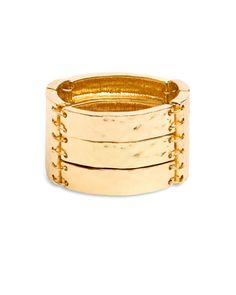 Golden Amr Bracelet by Stylemint.com, $29.99
