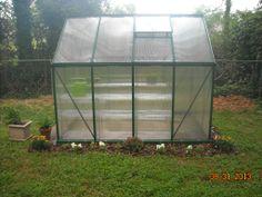 Palram Mythos greenhouse.