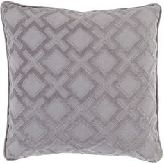 Add a touch of texture to your living room or library with this lovelypatterned pillow, perfect paired with cashmere throws and leather upholstery for a gl...