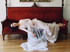 Morning Glory: Sareh Nouri – New York Spring 2017 Bridal Collection. www.theweddingnotebook.com
