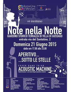"""Domenica 21 giugno ritorna """"Note nella notte"""" - http://www.gussagonews.it/domenica-21-giugno-ritorna-note-nella-notte/"""