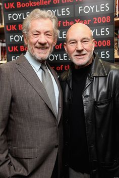 Ian McKellen & Patrick Stewart...if I were thirty years older!