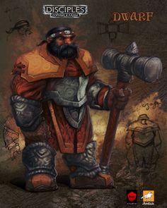 Dwarf by EGOR-URSUS.deviantart.com on @deviantART