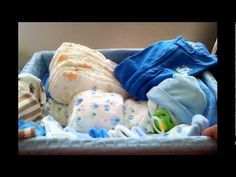 "How to make a diaper ""Swaddle Baby"" (Diaper Cake) - YouTube"