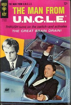 Man from UNCLE (1965 Gold Key) comic books #14