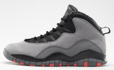 Air Jordan 10 Cool Grey/Infrared Official Images http://nicek.is/1bBqyPf