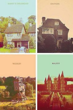 Contrast between the houses... but Harry's isn't a home