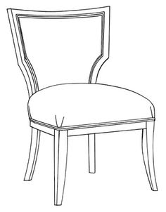 High Quality HF 217   Dining Chair | Hallman Furniture