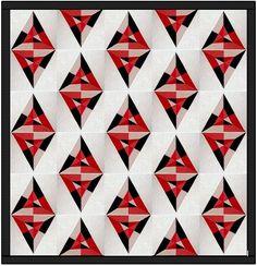 Kite Shape Quilt Ex