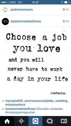 Work in what you like!