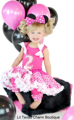 Little Miss will definitely be having a Party in Pink with Minnie Mouse one year!!!