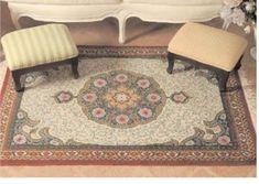 Gallery.ru / Фото #4 - Floral Carpet (Latch Hook) - azteca