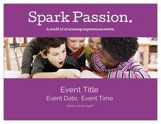 June LibraryAware Flyer, Spark Passion