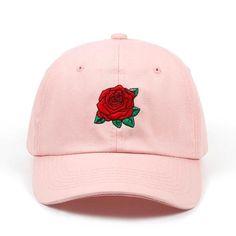 VORON 2019 New Hot Fashion Roses Men Women Baseball Caps Spring Summer Sun  Hats for Women c43b022e424f