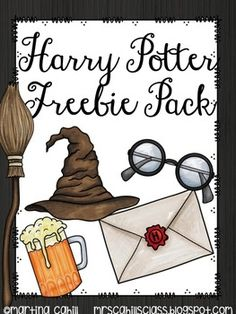 Harry Potter Freebie Pack - Decoration For Home Harry Potter Classes, Harry Potter Activities, Cumpleaños Harry Potter, Harry Potter Classroom, Harry Potter Birthday, Classroom Door, Classroom Themes, Future Classroom, Classroom Displays