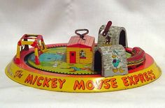 MICKEY MOUSE EXPRESS Made by Marx in 1950s