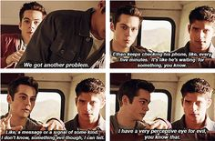 Stiles actually does, he always knows who the bad guy is...