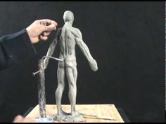 How To Sculpt In Clay #3 - More On How To Sculpt The Muscles Of The Back