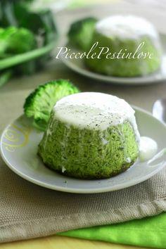 Cumino e Cardamomo: Tortini morbidi ai broccoli