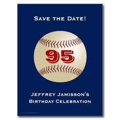 Custom Birthday Party Invitation Baseball created by SocolikCardShop. This invitation design is available on many paper types and is completely custom printed. Made in 24 hours. 75th Birthday Parties, Baseball Birthday Party, Sports Birthday, Birthday Ideas, 70th Birthday, Birthday Celebration, Birthday Gifts, Surprise Birthday, Baseball Invitations