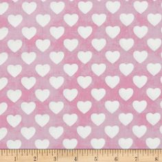 Sleepytime Animals Hearts Pink from @fabricdotcom  From David Textiles, this cotton print fabric is perfect for quilting, apparel and home décor accents. Colors include pink and white.