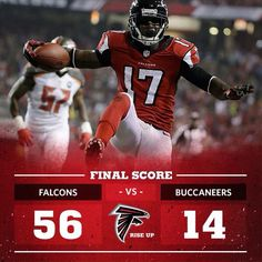 The Falcons sprinted out to an easy lead over the Buccaneers in the first half of Thursday Night Football. Falcons Football, Football Team, Football Helmets, Falcons Rise Up, Devin Hester, Thursday Night Football, Georgia Girls, Football Conference, Atlanta Falcons