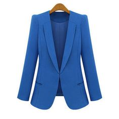Spring Autumn Fashion Tops Women Slim Blazers Long Sleeve Solid Leisure Western Style Suits Female Notched Blazers Plus Size 4XL