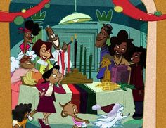 """...and the family you are happy you got stuck with.   26 Reasons """"The Proud Family"""" Was Awesome"""