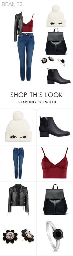 """""""Look #315"""" by mhite98 ❤ liked on Polyvore featuring Kate Spade, MANGO, Topshop, Lipsy, Boohoo, Sole Society and BERRICLE"""