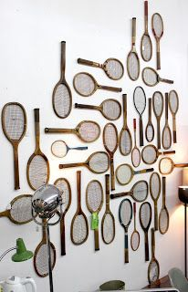 Racquet art from qwac.ca