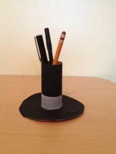 Lincoln pencil holder