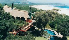 Monkey Valley Resort has a beautiful setting between Milkwood trees with the most beautiful view of Noordhoek Beach! Perfect for sundowners! Africa Destinations, Places Of Interest, Cape Town, Places Ive Been, South Africa, Beautiful Homes, Monkey, Have Fun, To Go