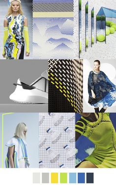 S/S 2017 colors & patterns trends: EXTREME ATHLEISURE