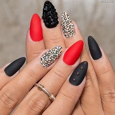 "You Are The Fairest Of Them All — ""Wild claws by @maryamNYC #nailedit #mani..."