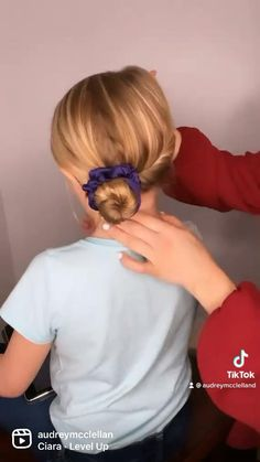 Baby Girl Hairstyles, Pretty Hairstyles, Easy Hairstyles, Little Girl Hairdos, Girl Hair Dos, Kid Hair, Short Hair Styles, Kids Hair Styles, Hair Videos