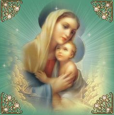 """Mary is all our Heavenly Mother even to the ones who do not  show the right respect to her.So I pray that one day all of Mary's Children will all simply say """"Hail Mary full of Grace The Lord is with thee!"""""""